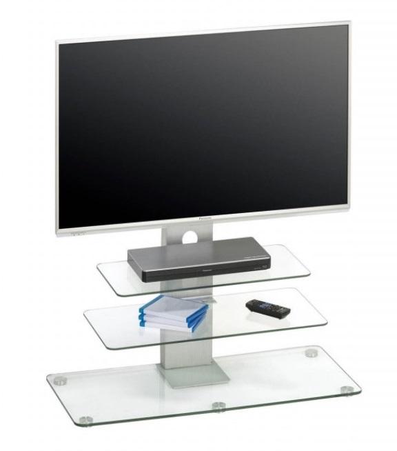 Glazen Tv-meubel Ajax - Helder Glas