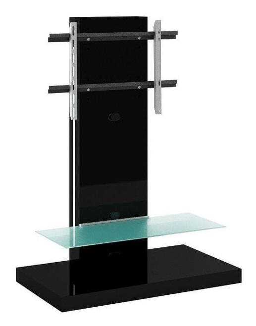 Tv-meubel Marino Max van 134 cm hoog in hoogglans Zwart