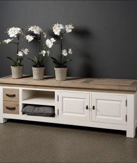 Tower Living TV-meubel 'Parma' 190 Cm, Kleur Wit