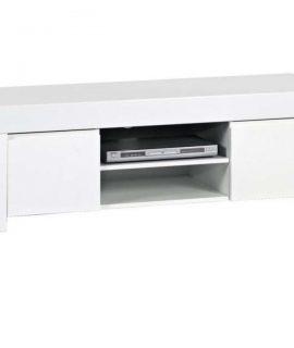 Tv-meubel Malifi 140 Cm Breed In Hoogglans Wit