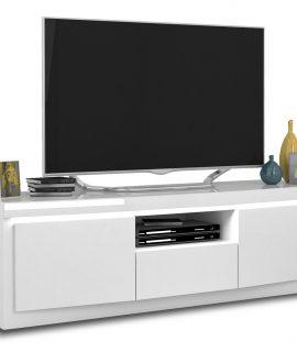 Tv-meubel Spirit 180 Cm Breed In Hoogglans Wit