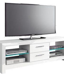 Tv-meubel Andora 150 Cm Breed – Hoogglans Wit