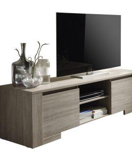 Tv-meubel Belma 181 Cm – Grijs Eiken
