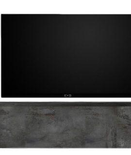 Zwevend Tv-meubel Tesla 138 Cm Breed In Oxid