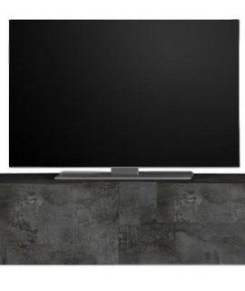 Zwevend Tv-meubel Tesla 276 Cm Breed In Oxid