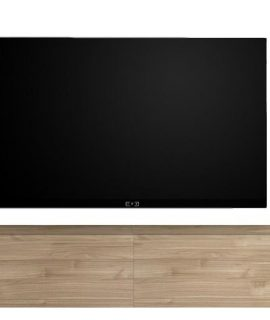 Zwevend Tv-meubel Tesla 276 Cm Breed In Stelvio Walnoot